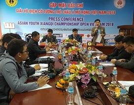 Hơn 100 kỳ thủ tranh tài tại giải cờ tướng trẻ châu Á mở rộng Việt Nam 2018