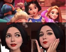 Bất ngờ với cô gái có tài biến hoá thành các nhân vật nổi tiếng