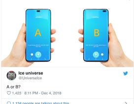 Lộ hình ảnh bộ ba Galaxy S10 thiết kế độc đáo