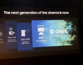 Màn hình LED lần đầu tiên xuất hiện trong rạp chiếu phim ở Việt Nam
