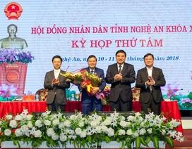 Chủ nhiệm Ủy ban Kiểm tra Tỉnh ủy được bầu làm Phó Chủ tịch UBND tỉnh Nghệ An
