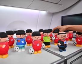 Món quà đặc biệt dành tặng thầy trò HLV Park Hang Seo trên máy bay