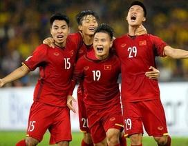 Con số cho thấy sự đa dạng trong khâu ghi bàn của đội tuyển Việt Nam