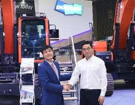Hãng máy công trình Doosan mở rộng hoạt động tại Việt Nam