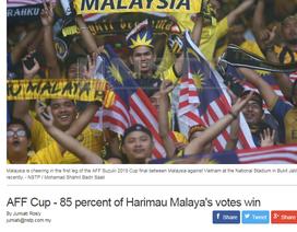 """Báo Malaysia tự tin """"Những chú hổ"""" sẽ cất tiếng gầm ở Mỹ Đình"""