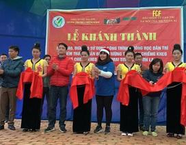 Khánh thành công trình phòng học Dân trí tại điểm trường bản Buốt, Sơn La