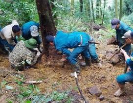 Không tìm thấy xương cốt phi công vụ máy bay rơi 47 năm trước ở Tam Đảo