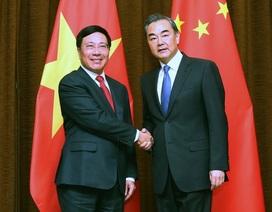 Phó Thủ tướng Phạm Bình Minh trao đổi về Biển Đông với Bộ trưởng Ngoại giao Trung Quốc