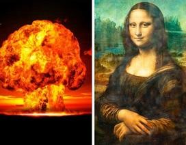 Đố bạn biết giữa bom nguyên tử và hội họa có mối liên quan gì?