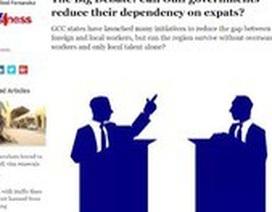 """Các nước vùng Vịnh """"đau đầu"""" về bài toán lao động nhập cư"""