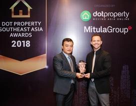 """IRB Holdings lập cú """"hattrick"""" tại lễ trao giải Dot Property Đông Nam Á 2018"""