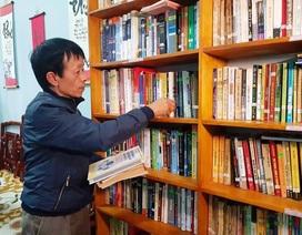 """Thầy giáo làng say mê """"truyền lửa"""" văn hóa đọc cho học sinh"""