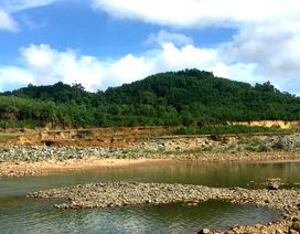 Thủy điện Sông Tranh 3 xả nước, người đàn ông bị nước cuốn trôi