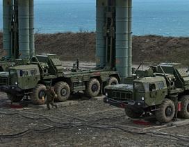 """Nga tập trận bắn đạn thật với """"Rồng lửa"""" S-400 ở Crimea"""