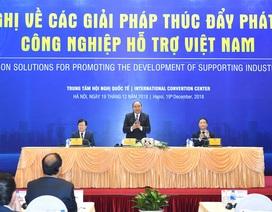 Thủ tướng: Công nghiệp hỗ trợ Việt Nam cần có chiến lược như HLV Park Hang Seo