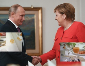 Mời Thủ tướng Đức đặc sản Nga, ông Putin gửi thông điệp vụ tàu Ukraine