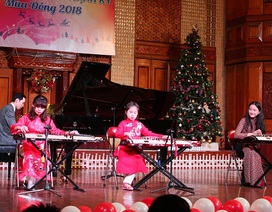 Xem các tài năng nhí trình diễn piano, guitar, đàn tranh