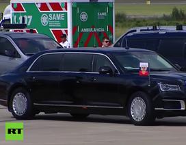 Siêu xe của Tổng thống Putin gây chú ý ở thượng đỉnh G20