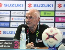 """HLV Eriksson: """"Philippines đã thua đội bóng hay nhất ở giải năm nay"""""""