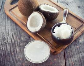 Dùng dầu dừa nhiều không tốt cho sức khỏe