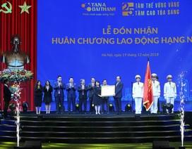 Tập đoàn Tân Á Đại Thành nhận Huân chương Lao động hạng Nhất