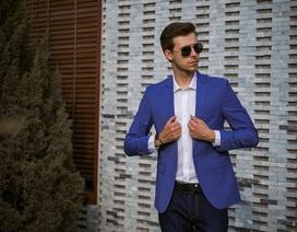 Đổi mới phong cách thời trang Suit với họa tiết kẻ caro cùng VULCANO