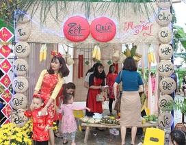 Trường mầm non tổ chức hội chợ ẩm thực gây quỹ nhân ái