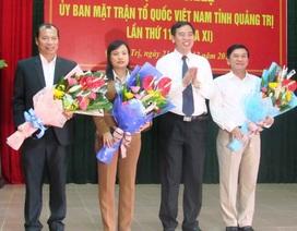 Bị kỷ luật cảnh cáo, nguyên Bí thư Huyện ủy làm Phó Chủ tịch Uỷ ban MTTQVN tỉnh