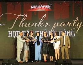 Dược mỹ phẩm Dermafirm vinh danh Top Spa, Thẩm mỹ viện, Clinic xuất sắc