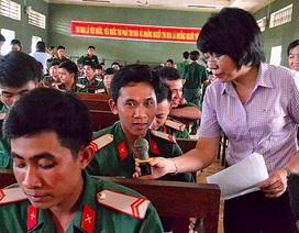 Giới thiệu việc làm cho hơn 500 quân nhân sắp xuất ngũ