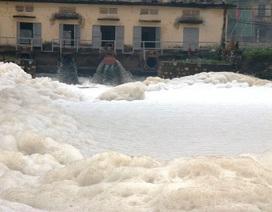 Hà Nam thông báo khẩn về tình hình ô nhiễm nước sông