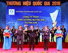 Nutricare vinh dự đón nhận Giải thưởng Thương hiệu quốc gia