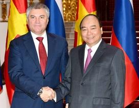 Thủ tướng: Trong hoàn cảnh nào, Việt - Nga cũng luôn kề vai, sát cánh!