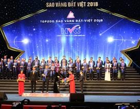 HVC Group đạt giải thưởng Sao Vàng Đất Việt 2018