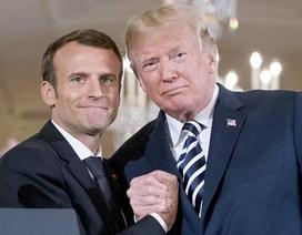 Tổng thống Pháp chỉ trích ông Trump: Là đồng minh nên kề vai sát cánh