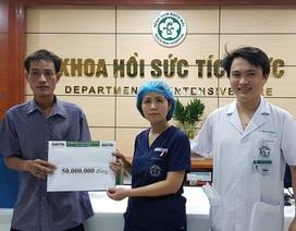 Bạn đọc báo điện tử Dân trí hỗ trợ nóng 50 triệu đồng tới em Lý Thị Mỵ