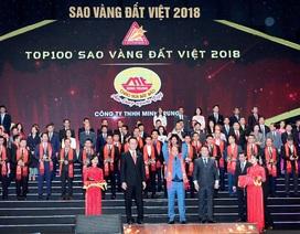 Minh Trung Group: Thương hiệu cháo sen Bát Bảo Minh Trung vinh dự đạt Top 100 Sao Vàng Đất Việt 2018