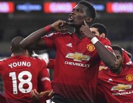 Đội hình tiêu biểu vòng 18 Premier League: Pogba bừng sáng