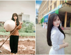 Nữ sinh 16 tuổi tài năng hoá cô thôn nữ xinh đẹp
