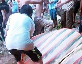 3 thanh niên tử vong vì lật thuyền trên hồ chứa nước