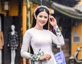 Hoa hậu Ngọc Hân mang bộ sưu tập áo dài Xuân đến với Duyên dáng Việt Nam 30