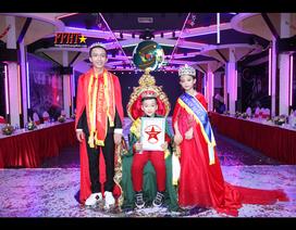 Đoàn Đức Tiến Trà đoạt giải Quán quân Người mẫu nhí Việt Nam 2018
