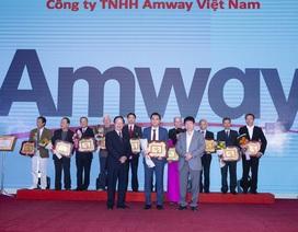 Amway Việt Nam được vinh danh vì những đóng góp cho cộng đồng