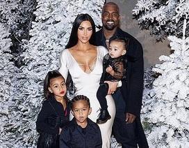Kim Kardashian chia sẻ hình ảnh hạnh phúc của gia đình