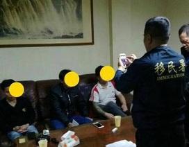 """Đài Loan tìm thấy 3 du khách Việt Nam trong đoàn 152 người """"mất tích"""""""