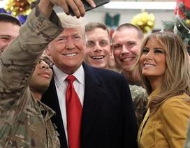 Ông Trump bất ngờ tới Iraq sau tuyên bố rút quân khỏi Syria và Afghanistan