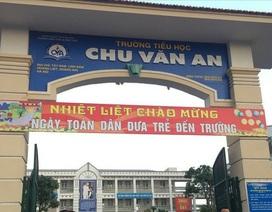 Hà Nội: Vào cuộc vụ học sinh uống nước có trực khuẩn mủ xanh