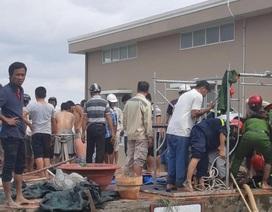 Vụ 4 công nhân nhiệt điện tử nạn: 3 người xuống cứu 1 người