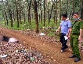 Phát hiện người đàn ông khuyến tật bán vé số chết trong vườn cao su