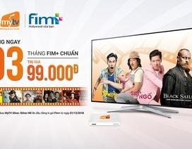 3 tháng miễn phí thưởng thức kho phim Việt Nam lớn nhất trên MyTV